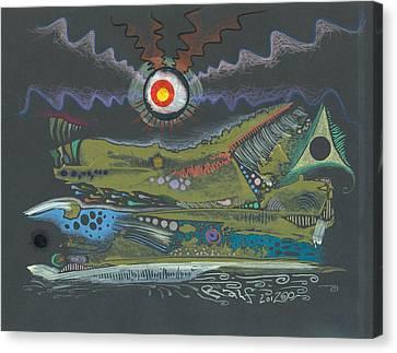 Dargonia Canvas Print by Ralf Schulze