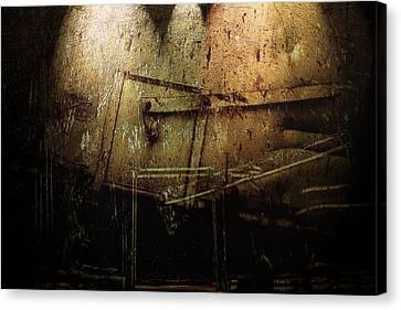 Dark Door Canvas Print by Janet Kearns