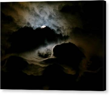 Dark Moon Mystery Canvas Print