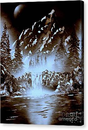 Dark Mountain Canvas Print