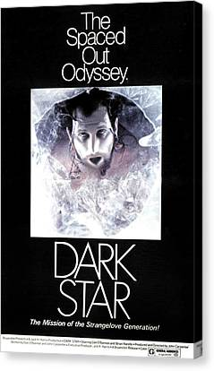 Dark Star, Poster, 1974 Canvas Print