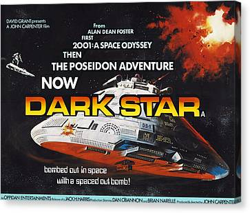 Dark Star, Poster Art, 1974 Canvas Print