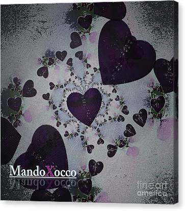 Dark Violet Canvas Print