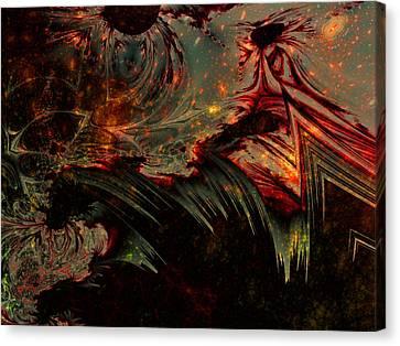 Darkness' End Canvas Print by Lauren Goia