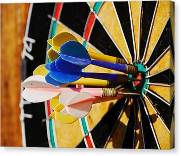 Darts Canvas Print by Rolfo