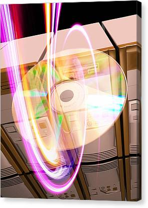 Data Storage Canvas Print by Victor Habbick Visions