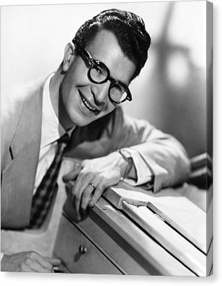 Dave Brubeck, 1950s Canvas Print by Everett