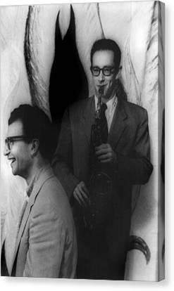 Dave Brubeck, And Paul Desmond Canvas Print