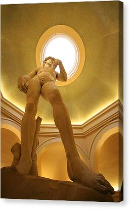 Statue Of David Canvas Print - David 2 by Jessica Velasco