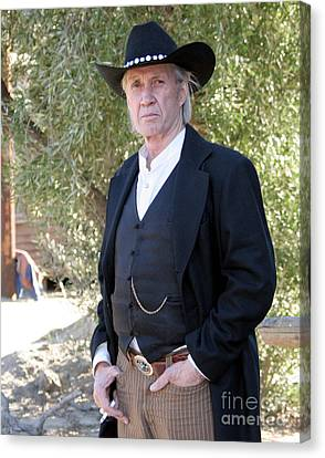 David Carradine Canvas Print by Nina Prommer