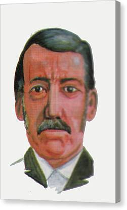 David Livingstone Canvas Print by Emmanuel Baliyanga