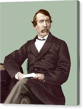David Livingstone, Scottish Missionary Canvas Print by Sheila Terry