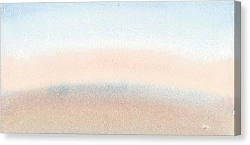 Dawn Across The Isle Of Wight Canvas Print by Alan Daysh