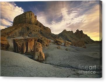 Northern Arizona Canvas Print - Dawn At Paria Canyon by Sandra Bronstein