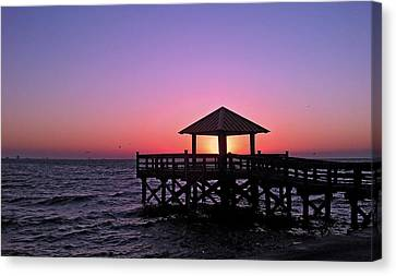 Canvas Print featuring the photograph Dawn by Brian Wright