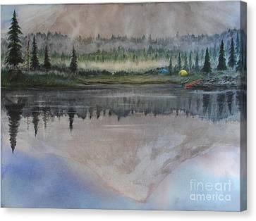 Dawn Reflections Canvas Print by Ronald Tseng