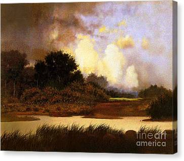 Dawn Sky Canvas Print by Robert Foster