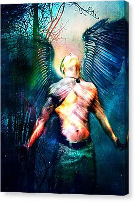Dawning Angel Canvas Print