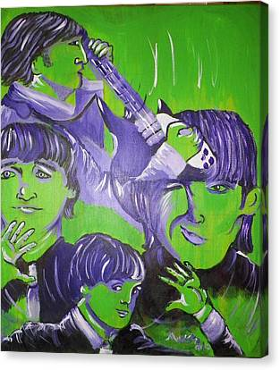 Day Tripper Canvas Print by Modesto Aceves