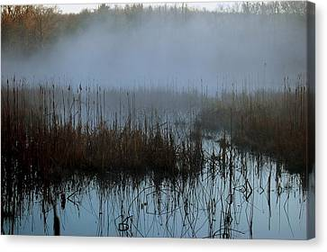 Daybreak Marsh Canvas Print