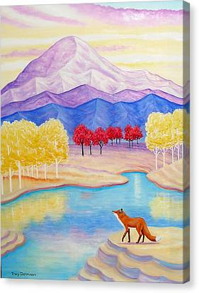 Daybreak Canvas Print by Tracy Dennison