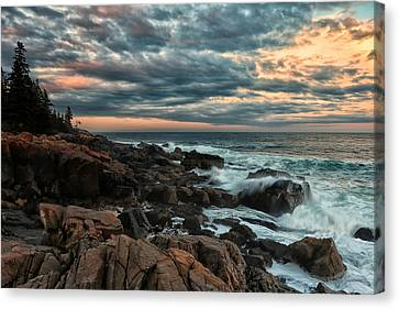 Day's End At Otter Point Canvas Print