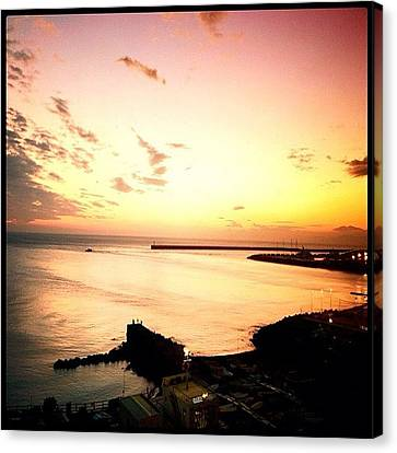 Sunset Canvas Print - Days End #graceland25 #webstagram by A Rey