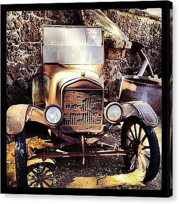 Classic Canvas Print - Days Of Old by Darice Machel McGuire