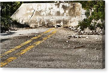 Dead End Street Canvas Print by Blink Images