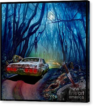 Dead End Canvas Print by Tony Koehl