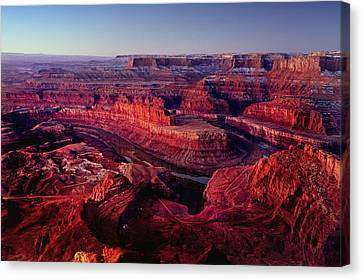 Dead Horse Point Canvas Print by Wade Aiken
