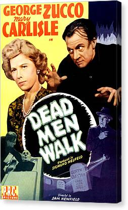 Dead Men Walk, Top From Left Mary Canvas Print