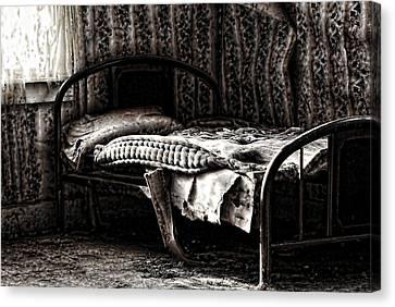 Dead Sleep Canvas Print by Empty Wall