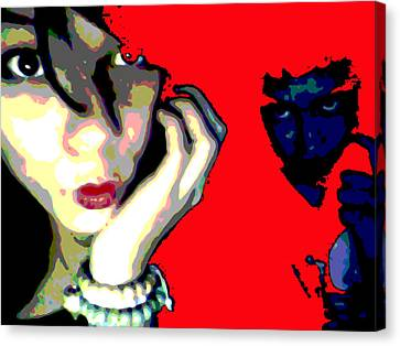 Deadly Kisses Canvas Print by Jimi Bush