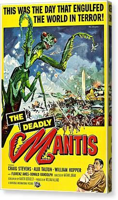 Deadly Mantis, The, Alix Talton, Craig Canvas Print