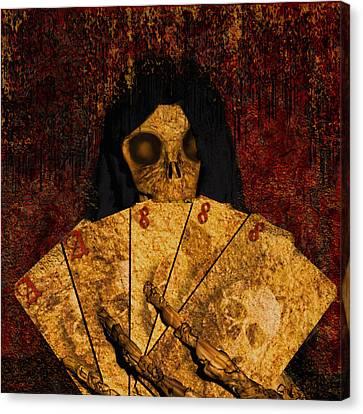 Deadmans Hand Canvas Print