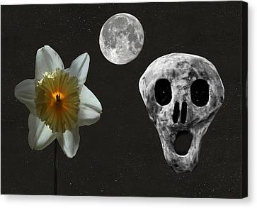 Death And The Daffodil  Canvas Print by Eric Kempson