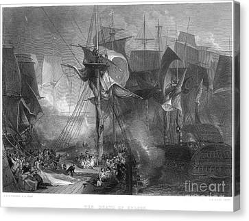 Lord Admiral Nelson Canvas Print - Death Of Nelson, 1805 by Granger