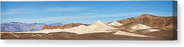 Canvas Print featuring the photograph Death Valley Mountain Panorama by Mike Irwin