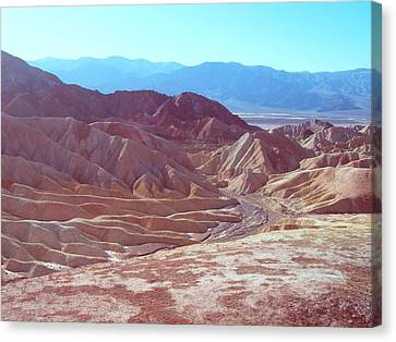 Death Valley Mountains 2 Canvas Print