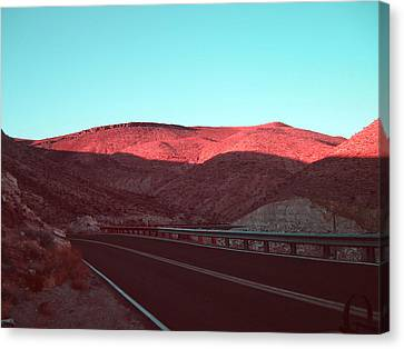 Death Valley Road 4 Canvas Print by Naxart Studio