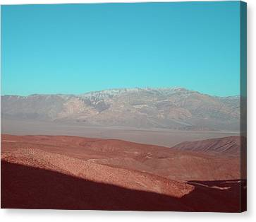 Death Valley View 3 Canvas Print
