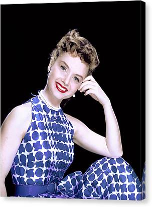 Debbie Reynolds, C. 1950s Canvas Print