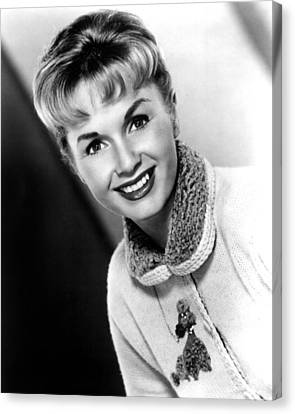 Debbie Reynolds, Portrait, Ca.1950s Canvas Print by Everett