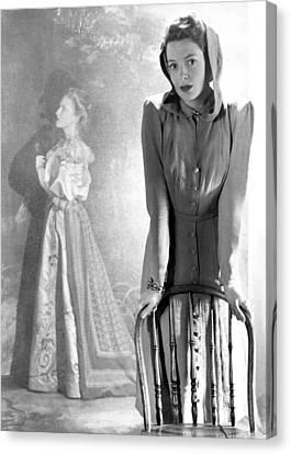 Deborah Kerr, Circa 1940s Canvas Print by Everett