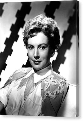 Deborah Kerr, Portrait, Ca. 1950s Canvas Print by Everett
