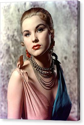Debra Paget, Ca. Early 1950s Canvas Print