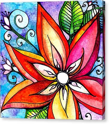 Decadence Canvas Print by Robin Mead