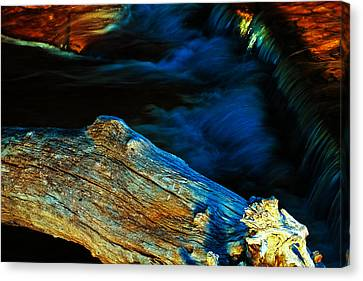 Rapids Canvas Print - Decay by Joshua Dwyer