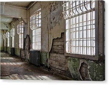 Alcatraz Canvas Print - Decay by Kelley King